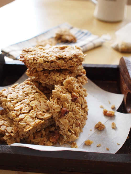 Rolled Oats & Walnuts Bar